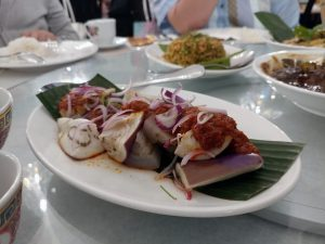 Assam Pedas Cod Fish (Sour and Spicy Mock Fish)