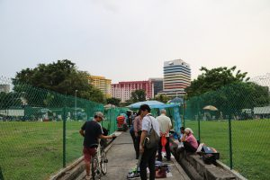 Iconic Rochor Centre in the Background
