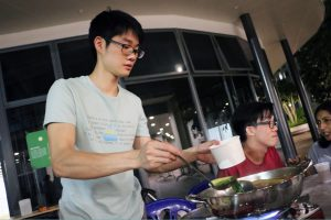 Shoki Serving the Food (2017)