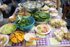 Vegetarian Steamboat Ingredients
