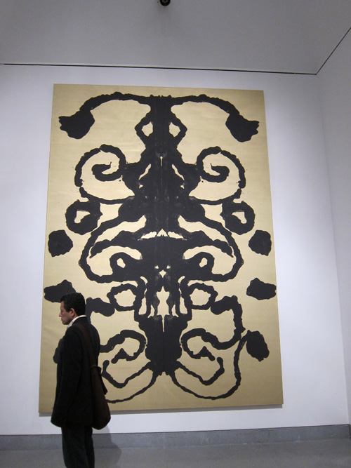 Rorschach Painting, 1984 © 2010 The Andy Warhol Foundation for the Visual Arts/Artists Rights Society (ARS), New York.