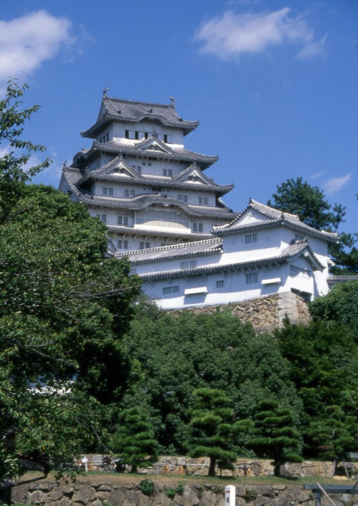 Himeji castle; Hyogo prefecture, Japan, 1601-1609, Momoyama Period; Source: AAMSF