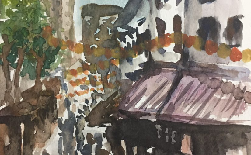 Outdoor Painting – Chinatown