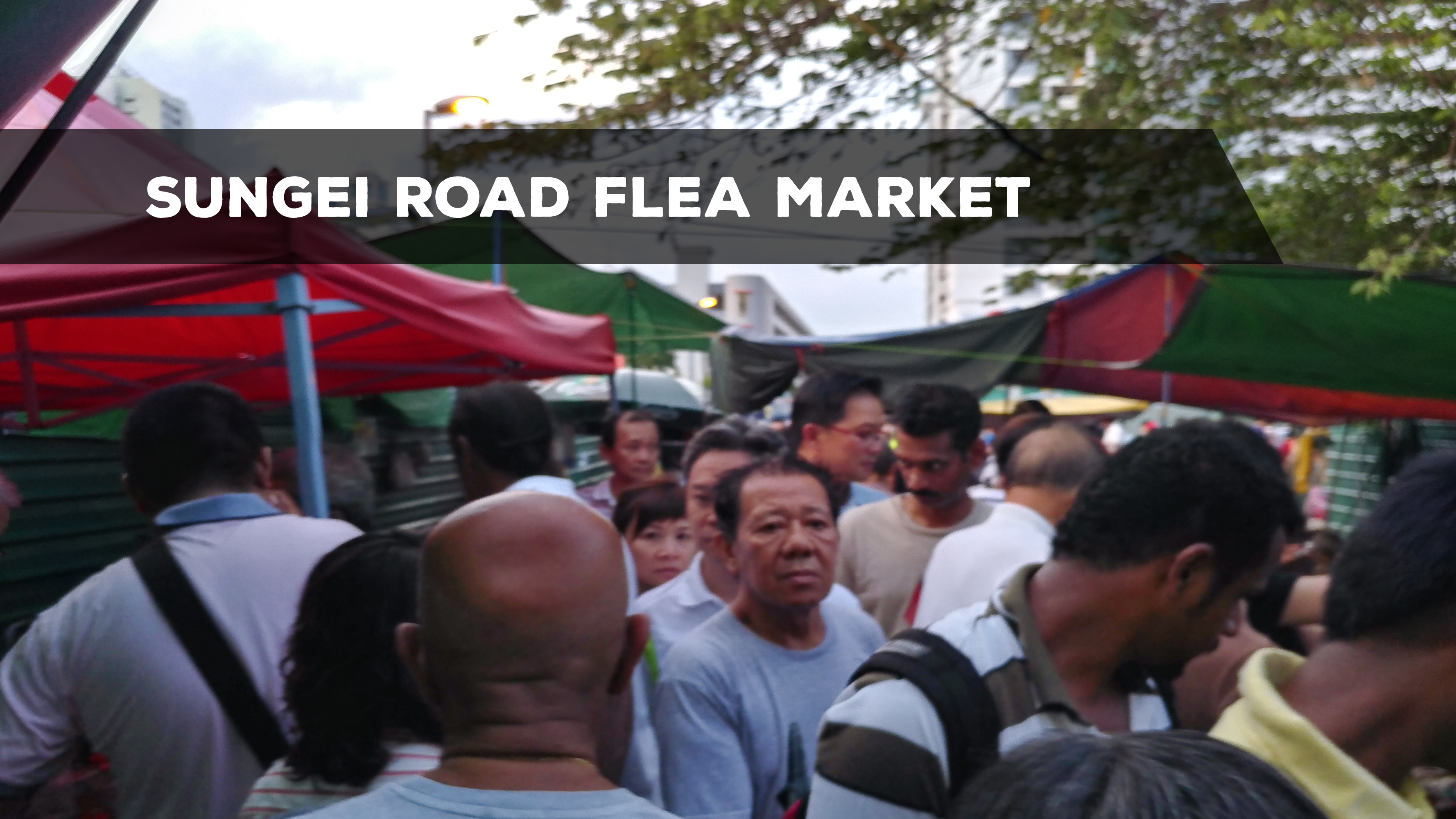 Sungei Road Flea Market