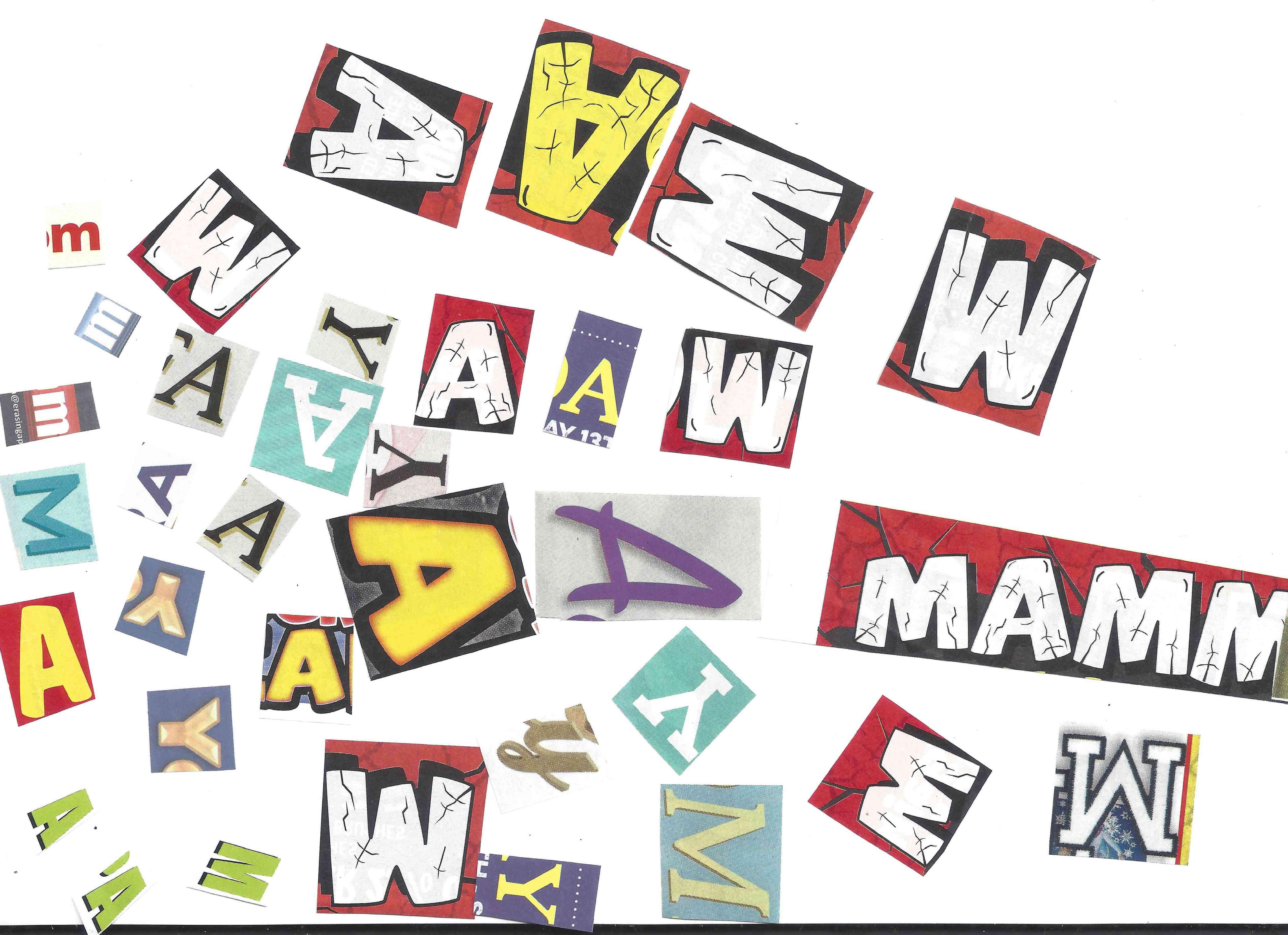 typography job project