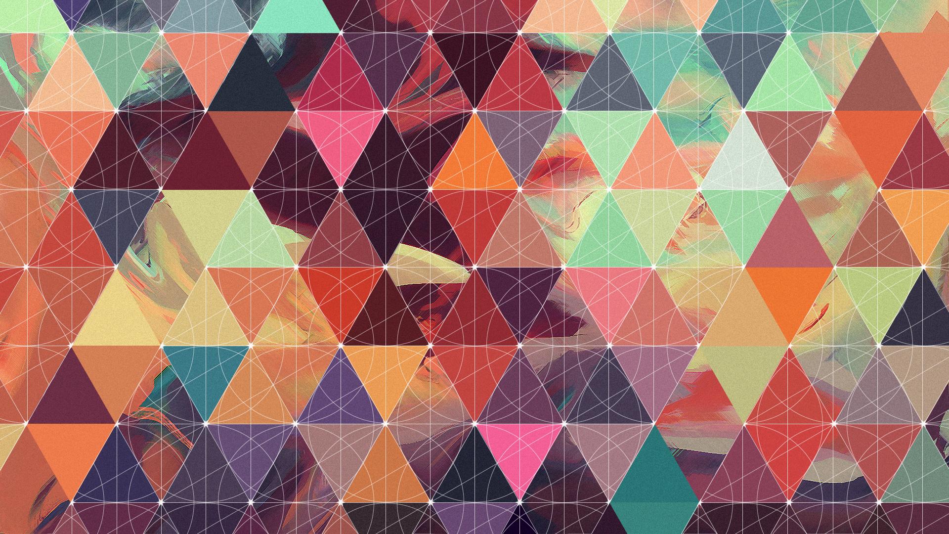 Abstract Geometric Pattern Cloth Design Wallpaper Stock ...