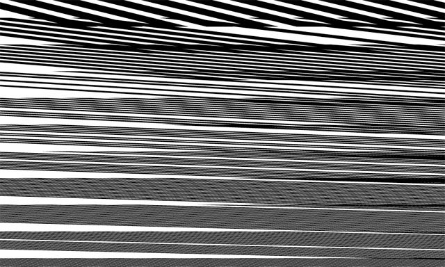 Lines, lines, lines.
