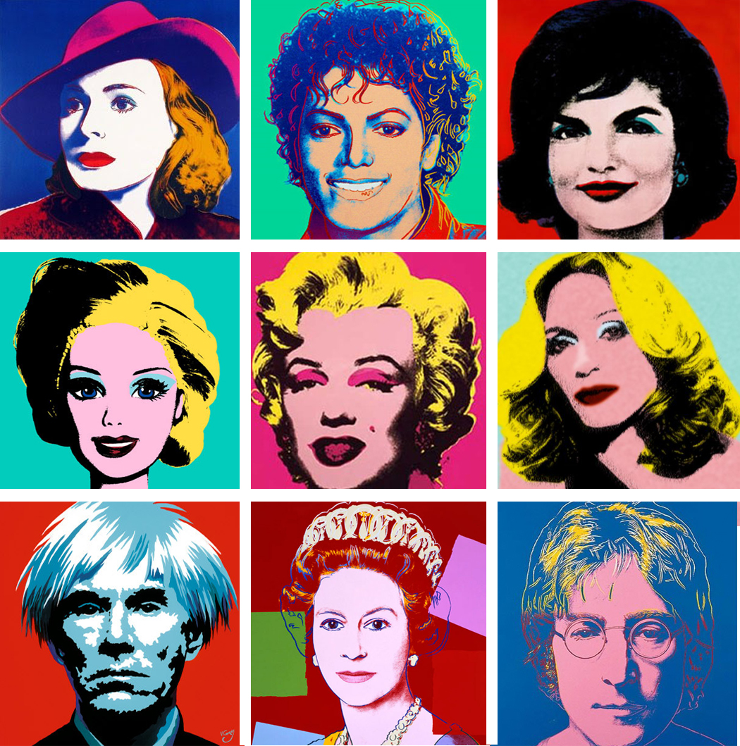 Andy Warhol American Pop Artist 19281987 Guide to pictures of works by Andy Warhol in art museum sites and image archives worldwide