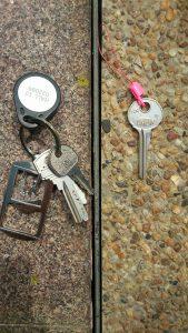 New vs Old Hall keys !