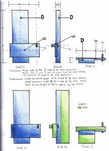 2D Sketch Analysis of Model 2