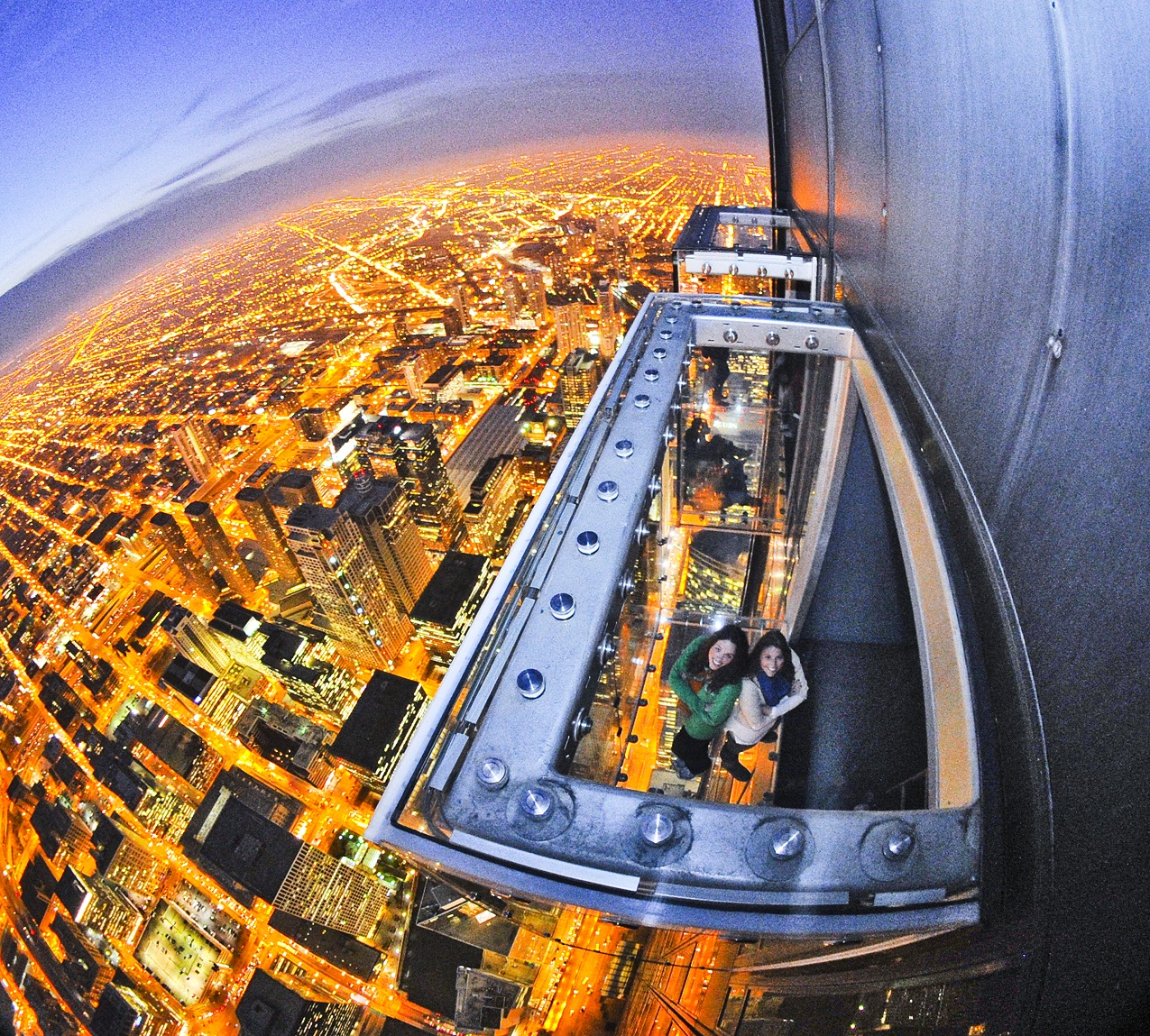 The Ledge of Chicago, a skydeck.