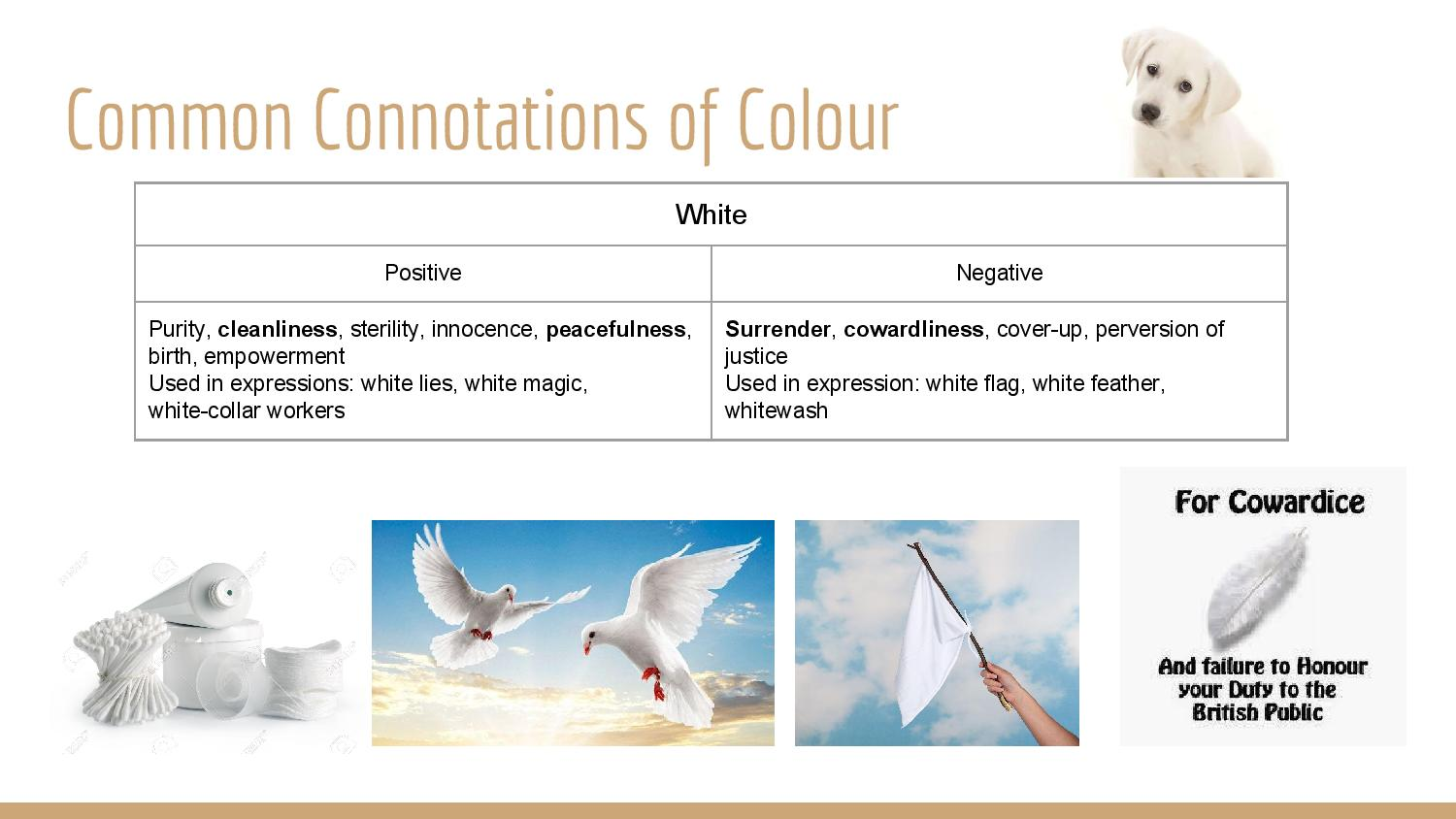 2D_Presentation: Colour and Meaning | Taa > @