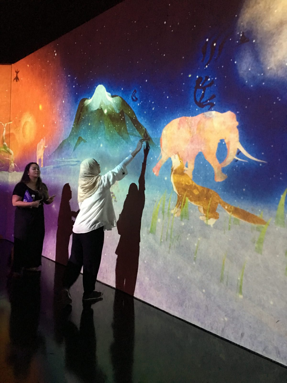 "ArtScience Musuem: NASA, ""Into The Wild"", ""Future World"""