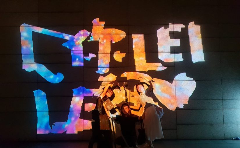 iLight Singapore, with two projection-based works