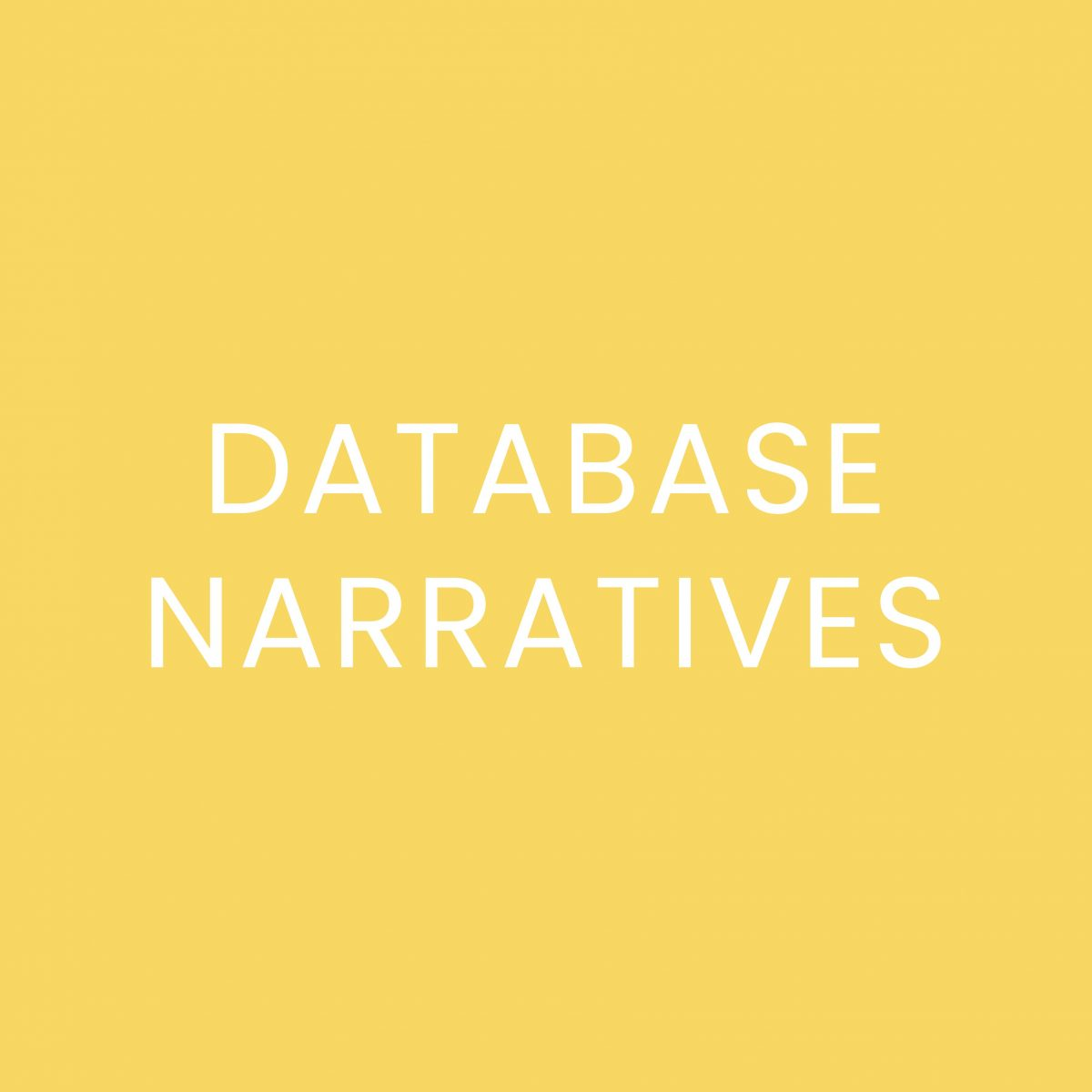 "Marsha Kinder, ""Designing a Database Cinema"": Thoughts"