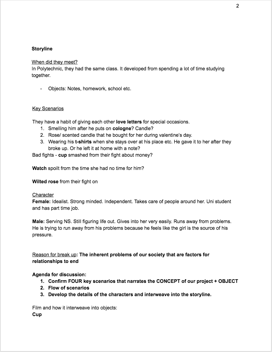 Nice Breakup Letter To Him Meeting Agenda Template