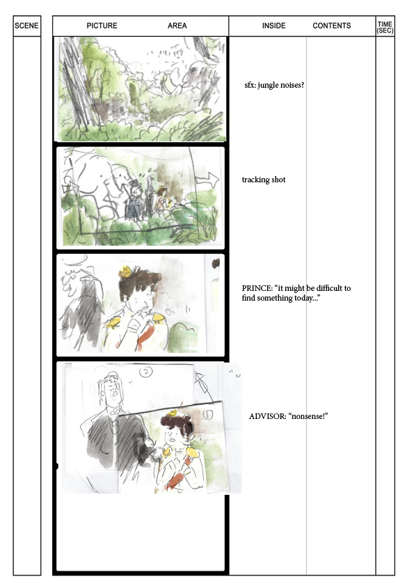 Visual Storytelling Assignment   Storyboarding