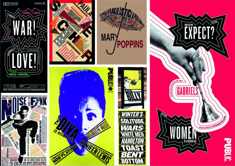 Typographer of the week: Paula Scher
