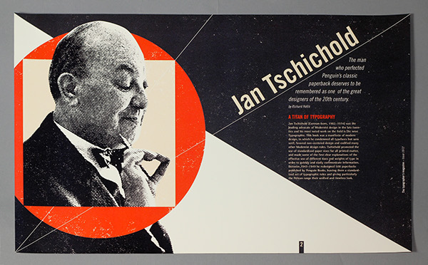 Typographer of the Week: Jan Tschichold
