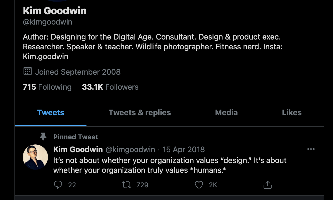 Thoughts on [Goal-Directed Product and Service Design]