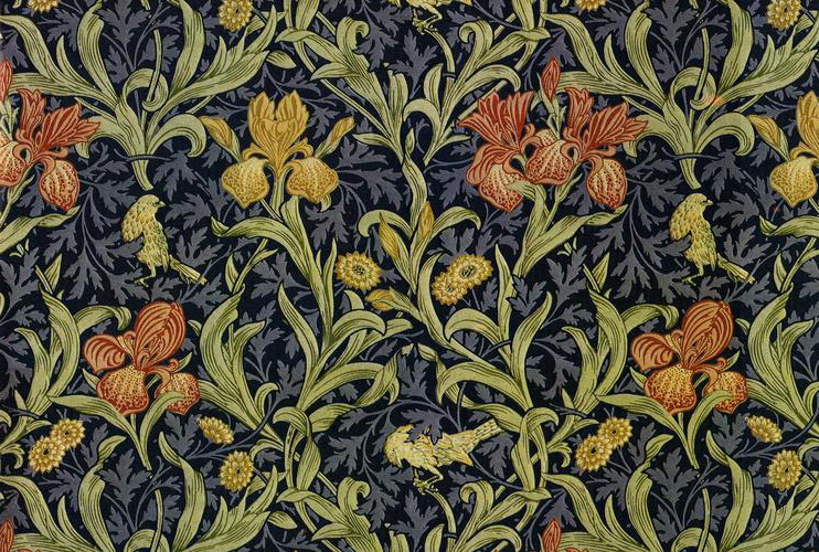 History of graphic design wk 3 william morris for Arts and crafts movement graphic design