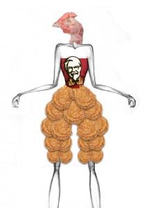 Dead Chicken=KFC 1