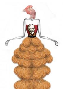 Dead Chicken=KFC 5