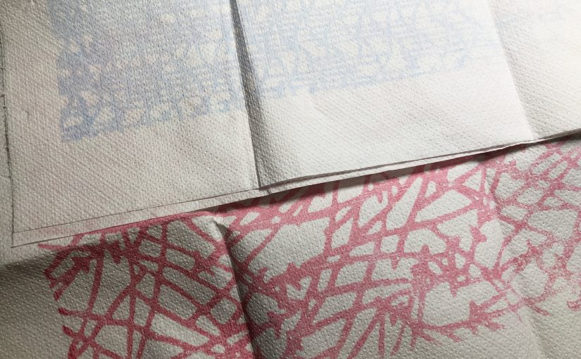 Surface Design – W8 ( Printing with special inks: Thermochromic ink )