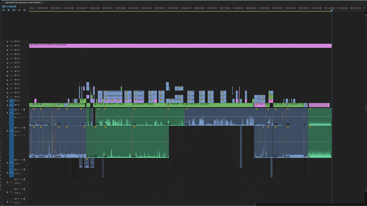 Rough Cut 1 (finally…) – Without Sound Edit