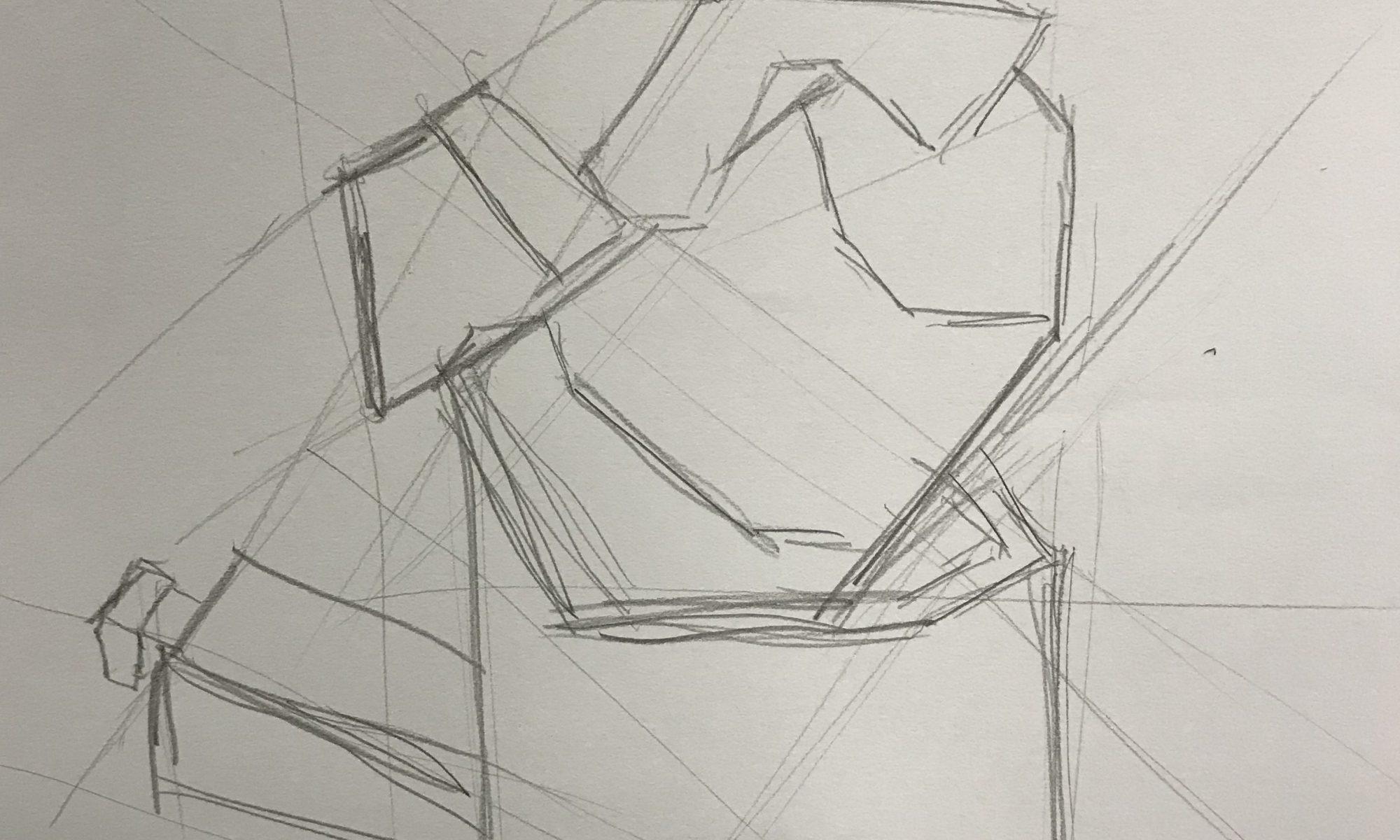 Drawing Using Lines : Still life u2013 jakelyj