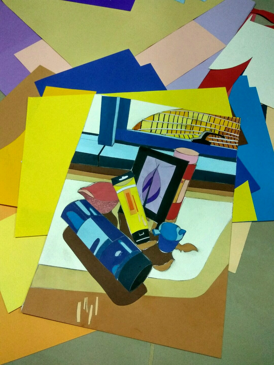 Project 2 – Colour Still-Life Cut-Out – JO