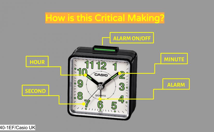 Research Critique 3 – Critical Making (79% Work Clock)