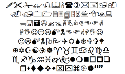 wingdings1