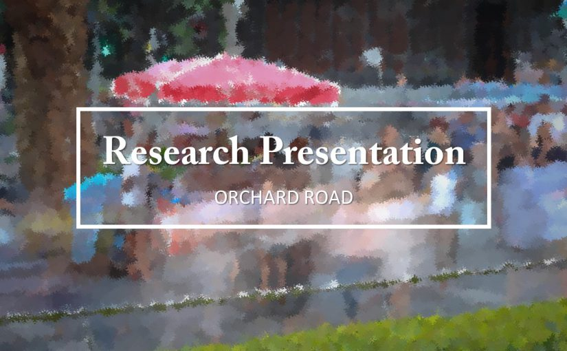 Project 2 Zine : Orchard Road Research