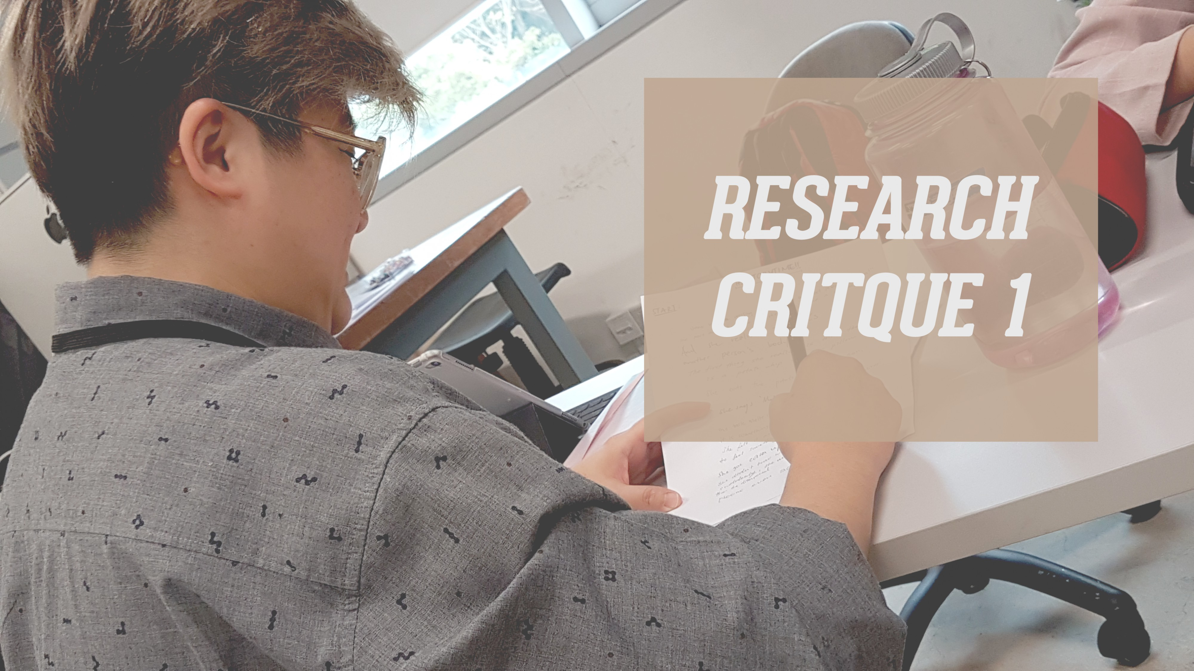 RESEARCH CRITIQUE 1: CROWD-SOURCED ARTWORK