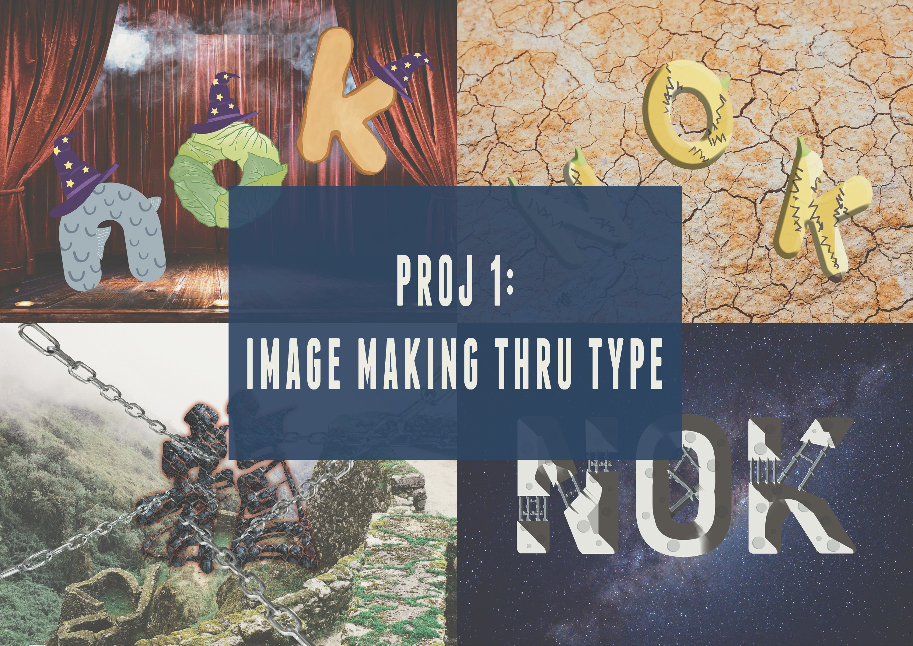 IMAGE MAKING THROUGH TYPE: RESEARCH&PROCESS
