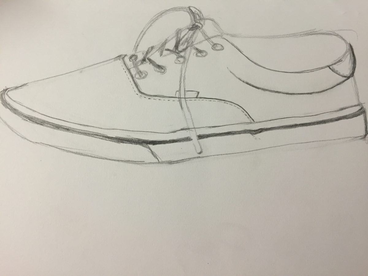 Contour Line Drawing Powerpoint : Contour drawing of shoes style guru fashion glitz