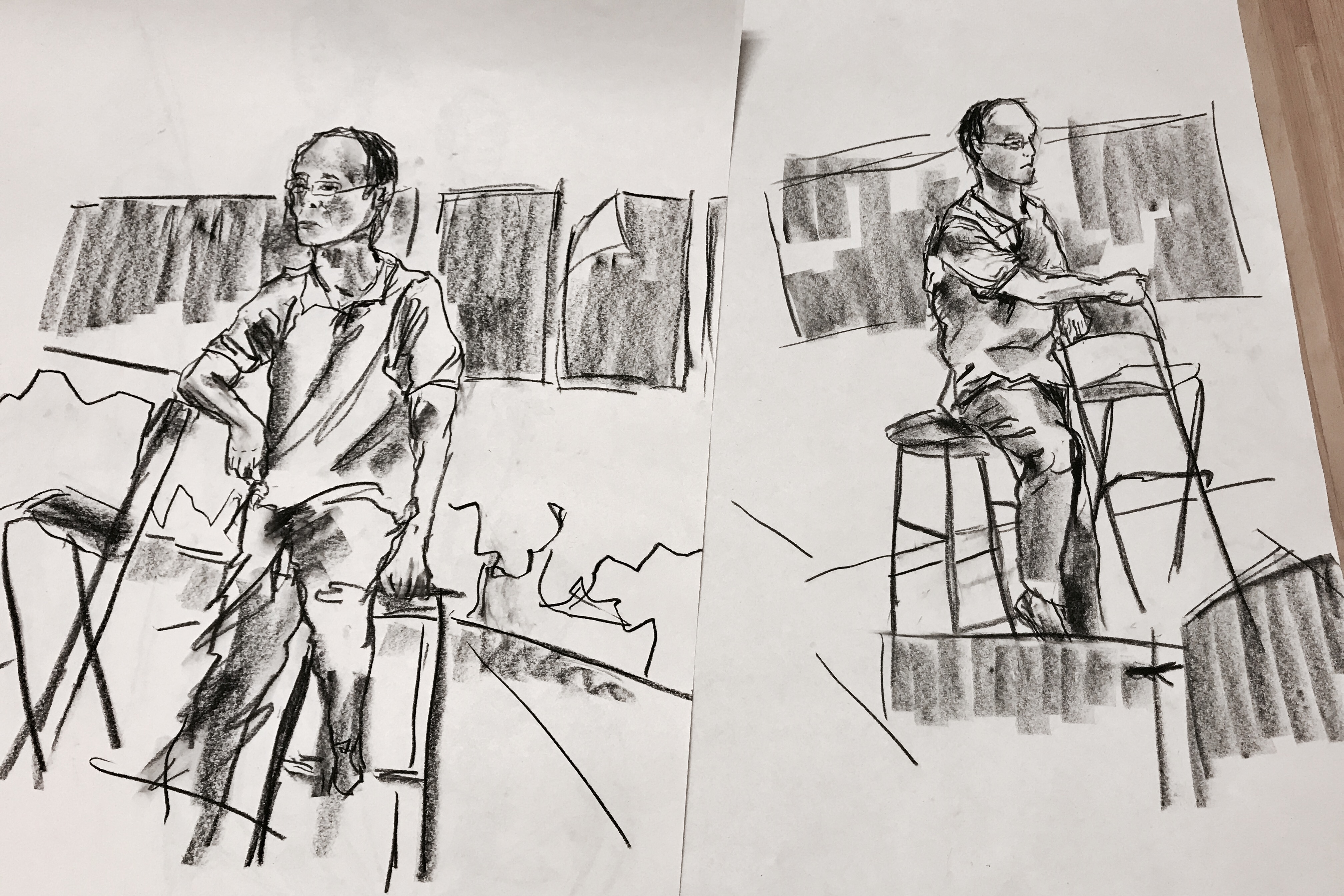 Foundation Drawing: Sketches