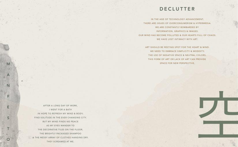 Manifesto | Declutter