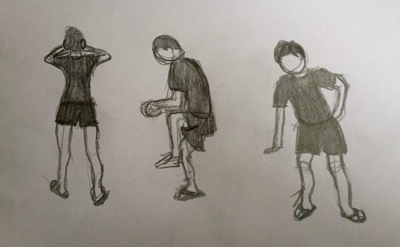 Life Drawing – I
