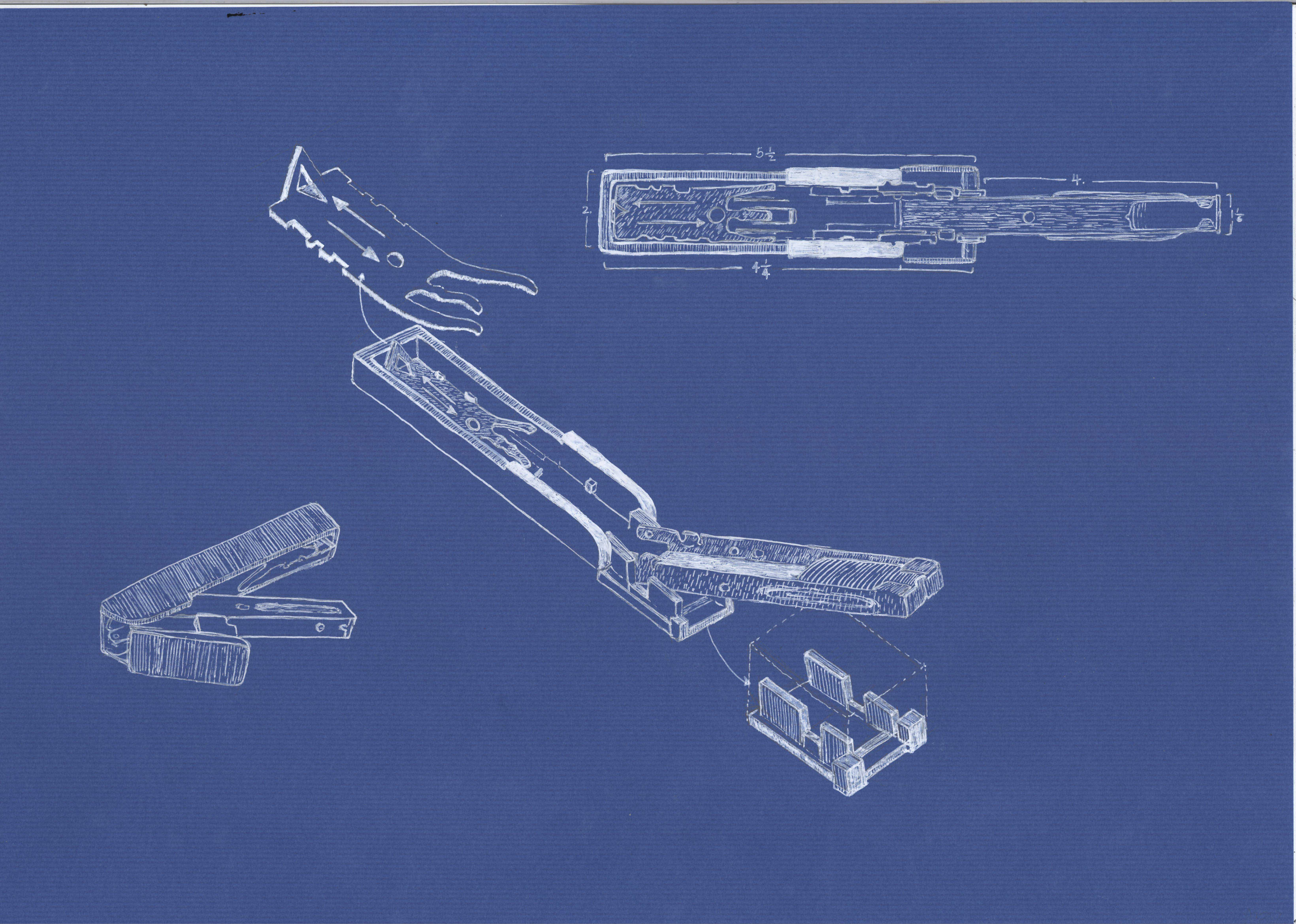 Blueprint nelle to draw out the products on an a3 size blue paper to me drawing big allows more space for details click on the images below for a more detailed view malvernweather Choice Image