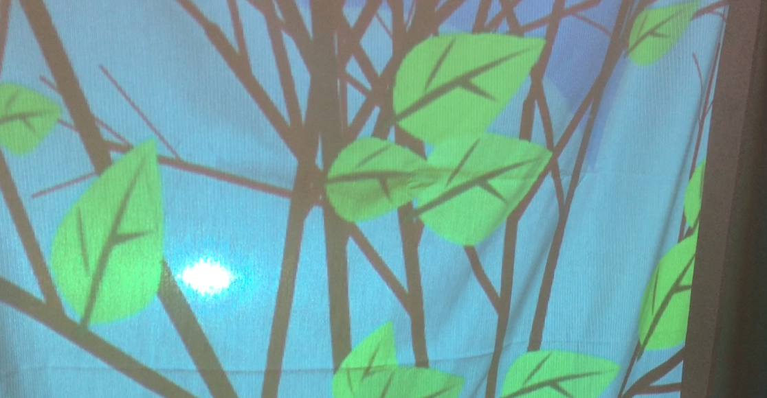 4D Foundation II Installation: A Tree In 3016