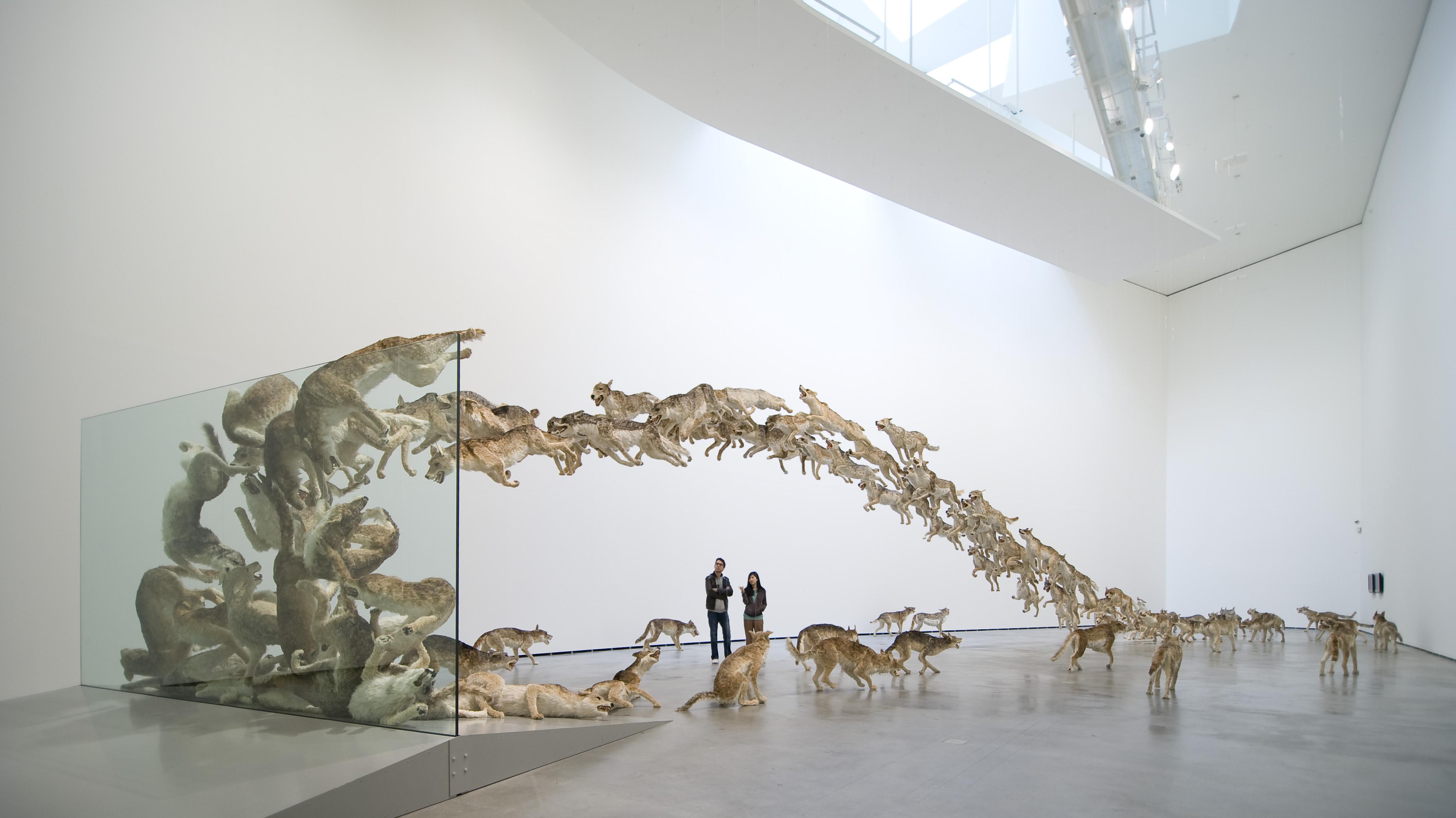 Cai Guo-Qiang Head On (2006)