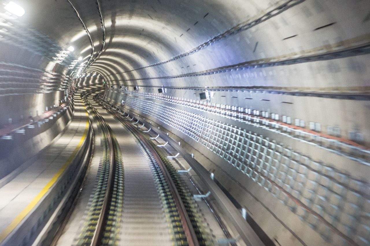 MRT train tunnel. Image credit: themiddleground.sg