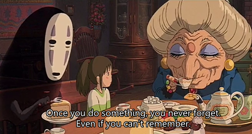 "Spirited Away Quotes New Doth Mother Know You Weareth Her Drapes""  Awkwardst"