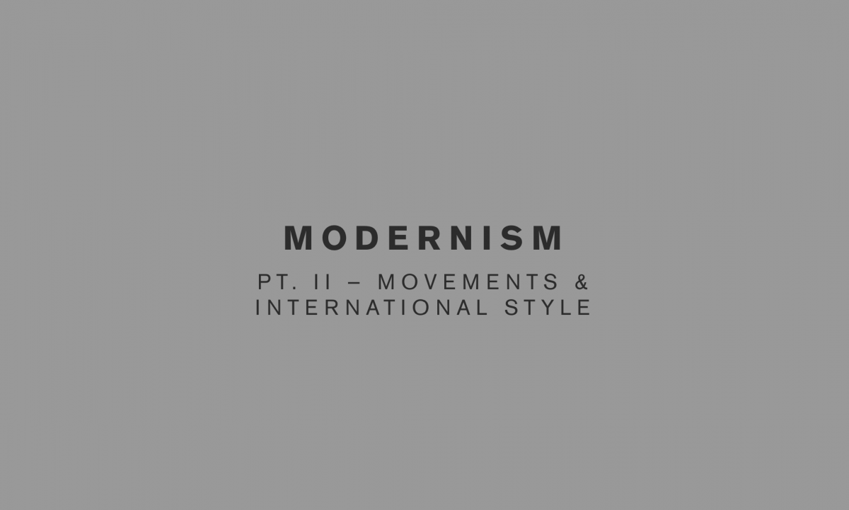 The Function of Modernism
