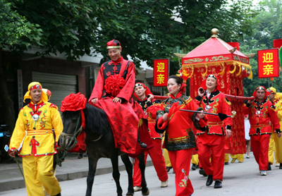 Ying Qin Fetching the bride