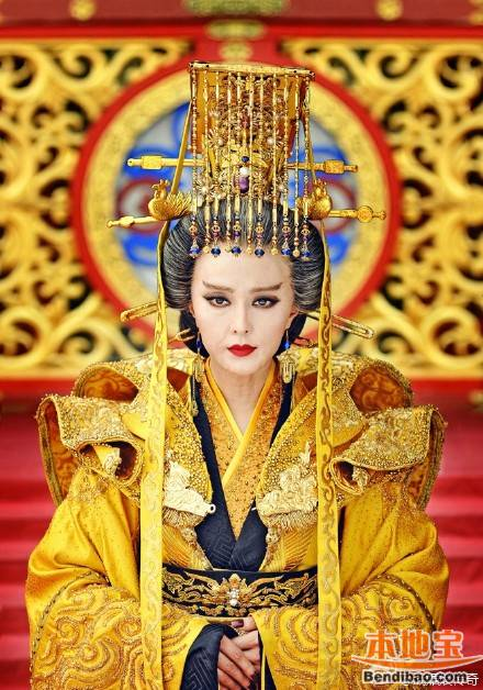 Empress Regnant Wu from drama Empress of China image source: http://cd.bendibao.com/gouwu/201524/68257.shtm last access 6th September 2016