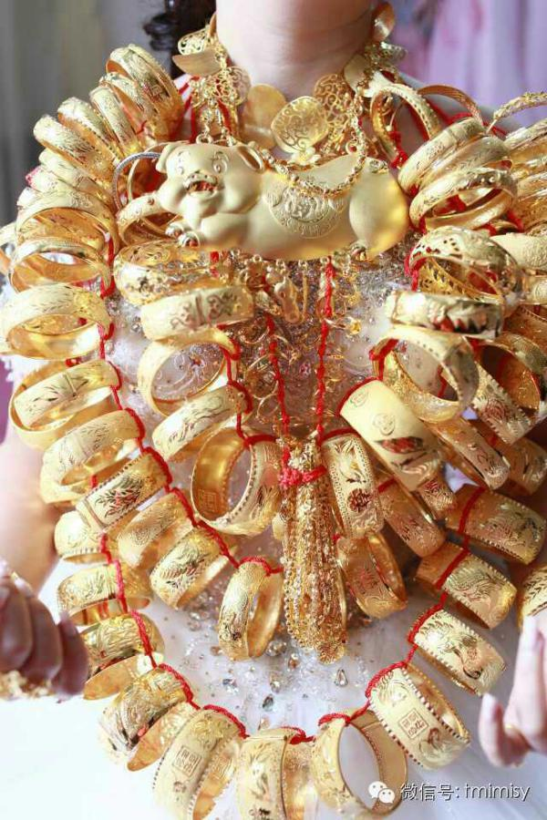 Golden Bride in Guangdong Shunde Image source: http://focus.21cn.com/sns/a/2014/1214/21/28727145.shtml last access 1st September 2016