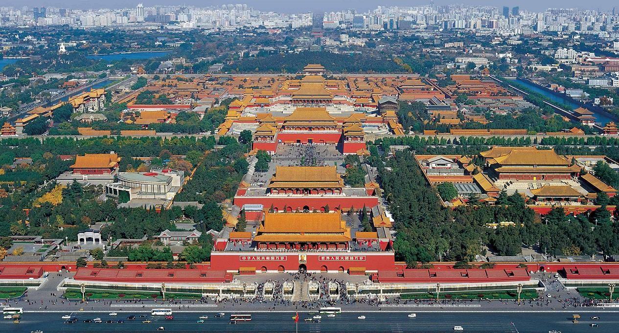 Forbidden City Ariel View image source: http://athousandmiles-k.blogspot.sg/2011/03/forbidden-city-beijing.html last access 4th September 2016